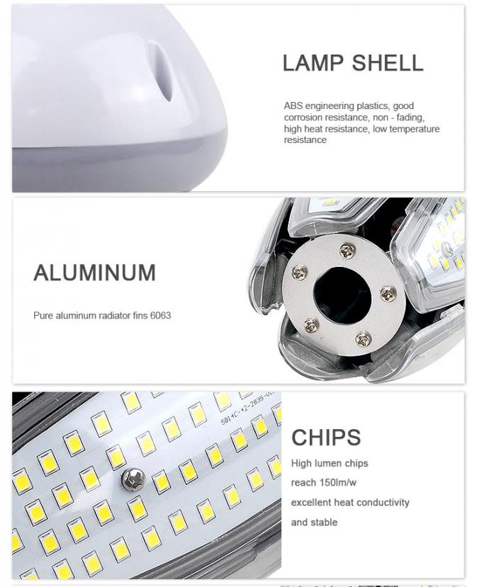 360 Degree 80W 100W LED Corn Light 5000K E39 E40 Base Ac100-277V