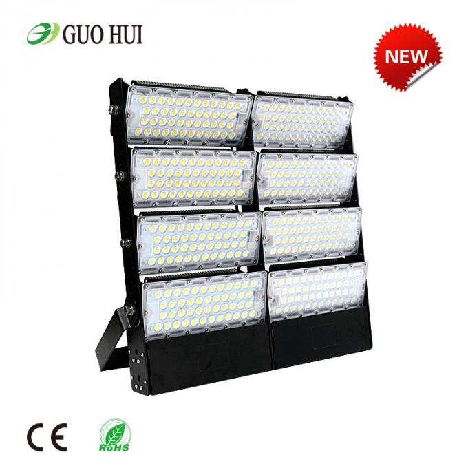 900w Outdoor Led Flood Lights , Sport High Mast Light Pole For Stadium Spotlight
