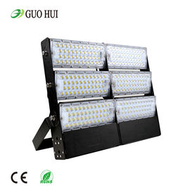 China 900w Outdoor Led Flood Lights , Sport High Mast Light Pole For Stadium Spotlight supplier